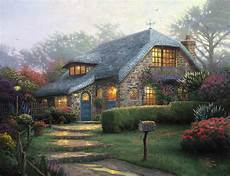 thomas kinkade style house plans