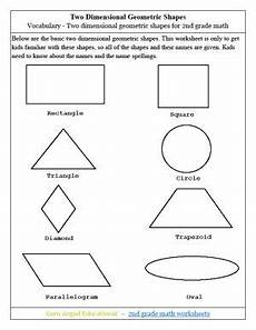 shapes worksheets second grade 1262 the world s catalog of ideas
