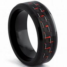 engagement rings for men 8mm black tungsten ring black and