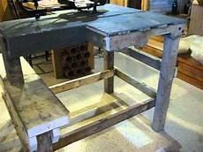 banc bois pour banc de tir home made a partir d une palette de bois franc