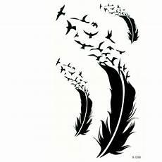 tempor 228 re tattoos feder vogel design temporary k 246 rperkunst