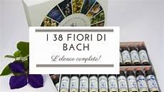 38 fiori di bach i 38 fiori di bach fiori di bach