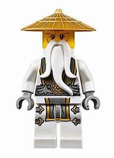 lego ninjago master sensei wu minifig