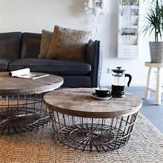 Runder Wohnzimmertisch Holz - beistelltisch new 216 70 cm kupfer rund couchtisch