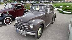 1952 fiat 500 c topolino exterior and interior clasic