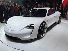 Porsche Mission E Electric Sedan Concept 310 Mile Range