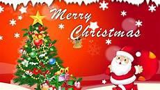 merry christmas santa claus christmas tree decorations greeting card 1920x1200 wallpapers13 com
