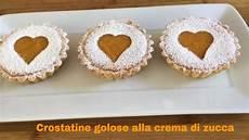 Crostatine Golose Alla Frutta Youtube | crostatine alla crema di zucca facili e golose perfette per halloween youtube