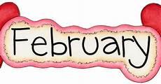 February Calendar Clipart