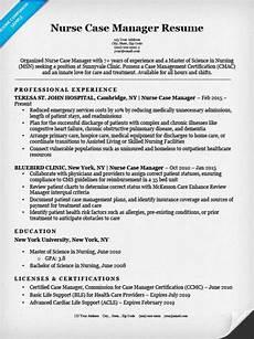 resume template case manager nurse case manager resume sle resume companion