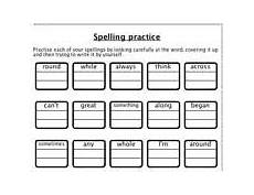 spelling worksheets ks2 printable 22440 key stage 2 words