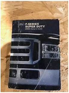 old car owners manuals 2006 ford f 350 super duty transmission control 2006 ford f 250 f 350 super duty truck owner owner s manual f250 f350 ebay