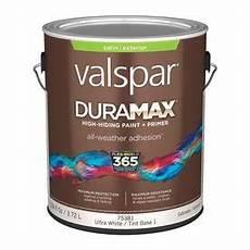 shop valspar duramax duramax white satin latex exterior