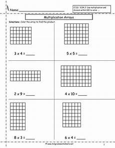 multiplication arrays worksheets grade 2 4847 multiplication arrays worksheets
