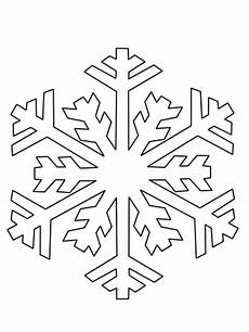 Schneeflocke Vorlage Zum Ausschneiden - kostenlose malvorlage schneeflocken und sterne