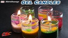 candele gel how to make gel candles in small glass jk arts 684