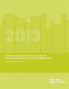 comparaison prix electricité comparaison des prix de l 233 lectricit 233 dans les grandes
