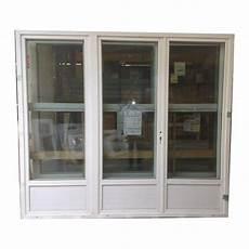 porte fen 234 tre pvc 3 vantaux 215x210 materiauxnet