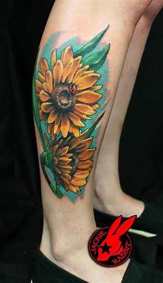 150 vibrant sunflower tattoos and meanings july 2020