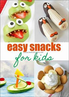 easy snacks for mess for less