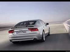 audi a7 sportback 2011 rear wing spoiler up rear