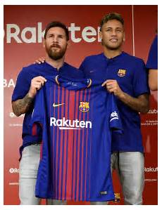 barca unveils new players jersey for next season see photos