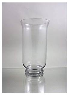 hurricane glass vase clear quality hurricane glass vase