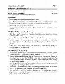distribution finacial advisor resume for malaysia