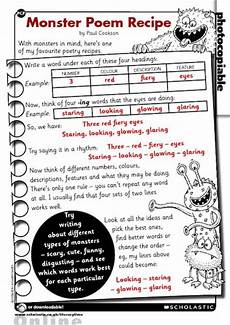teaching poetry ks2 ideas 25488 poem recipe free primary ks1 ks2 teaching resource scholastic