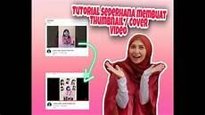 Tutorial Sederhana Membuat Thumbnail Cover