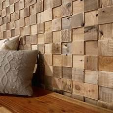 Panneau D 233 Coratif En Bois Mural Textur 233 Cube