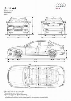 Abmessungen Audi A4 Avant - all new audi a4 and a4 avant tech specs and images not
