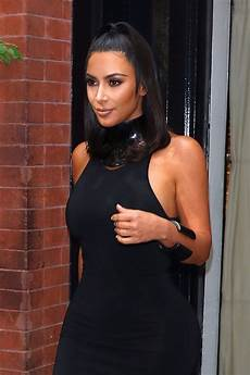 kim kardashian kim kardashian in tight short dress out in new york 06 25
