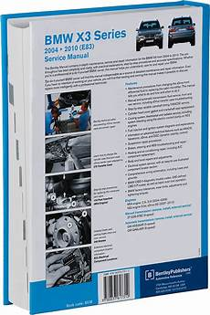 car repair manuals download 2006 bmw x3 instrument cluster back cover bmw x3 e83 2004 2010 repair information bentley publishers repair manuals and