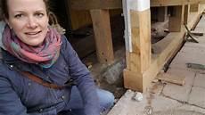 Fachwerk Balken Austauschen - schwellbalken sanierung in einem fachwerkhaus