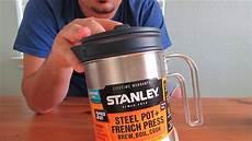 stanley stan 32oz coffee press cook brew kit youtube