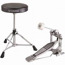 yamaha foot pedal yamaha fpds2a foot pedal and drum throne package fpds2a b h