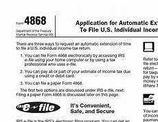 printable 2014 irs form 4868 automatic extension of time