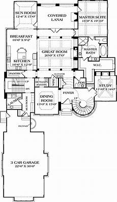theplancollection com modern house plans 180 1032 floor plan main level european house country