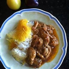 cucina persiana la cucina persiana pollo alle prugne khoresh alu