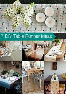 goodwill tips 7 diy table runner ideas
