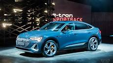 Audi E Sportback Revealed A Fastback Sedan With