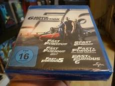 6 collection the fast and the furious teil 1 2 3 4 5