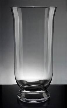 hurricane glass vase clear glass hurricane vase 16in