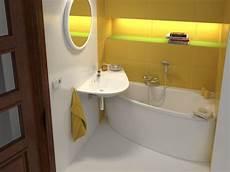 Raumspar Badewanne Mit Dusche - raumspar badewanne 150 x 70 cm sch 252 rze raumspar