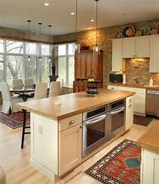 Kitchen Islands With Oven And Microwave by 6 Of The Most Popular Oven Arrangements For The Kitchen
