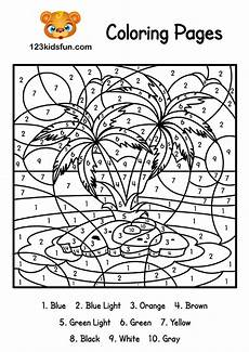 color by number coloring pages 18115 color by number summer coloring pages for printable 123 apps