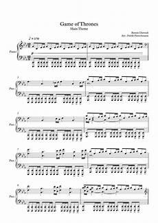 ramin djawadi game of thrones main theme piano
