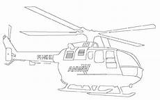 Ausmalbilder Polizeihubschrauber Coloring Page Helicopter Picgifs