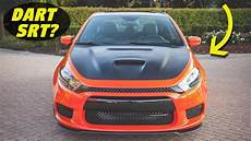 dodge dart concept the story of the dodge dart srt4 confirmed cancelled